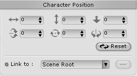 iClone character%20position Direct Picking and Manipulating Selected Objects