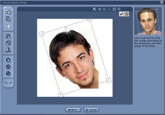 iClone defining the facial angle 01 Defining the Facial Angle
