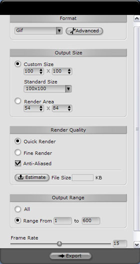 iClone export sequence Exporting an Image Sequence