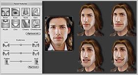 iClone face morph Face Adjustment