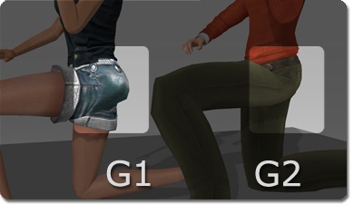 iClone g1 g2 hips More Realistic Posing