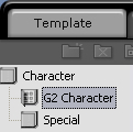 iClone g2 character folder G1 and G2 Characters