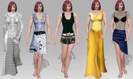 iClone garment1 CloneCloth Tutorial