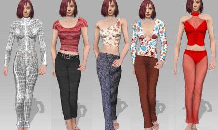 iClone garment2 CloneCloth Tutorial