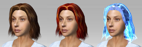 iClone hair texture Changing Hair Color and Texture