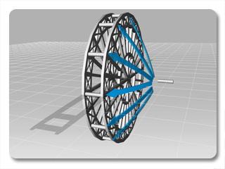 iClone link use cases ferries wheel 3 Example   Ferris Wheel (Prop to Prop)