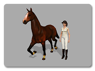 iClone link use cases riding a horse 1 Example   Riding a Horse (Character to Prop)