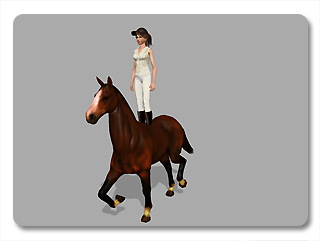 iClone link use cases riding a horse 4 Example   Riding a Horse (Character to Prop)