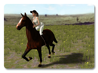 iClone link use cases riding a horse 7 Example   Riding a Horse (Character to Prop)