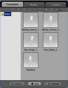 iClone motion%20template Animating Your Character