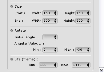 iClone particle%20modify2 Adjusting Particles