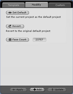 iClone project%20modify Set Default Startup Conditions