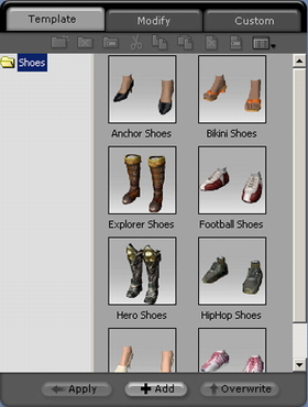 iClone shoe%20template Changing Your Characters Shoes