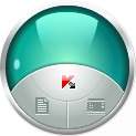 Internet Security gadget Kaspersky Gadget