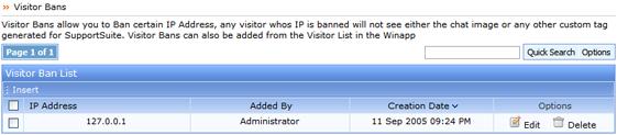 Kayako ss livesupp002 Visitor Bans