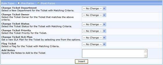 Kayako ss parser015 Insert New Rule