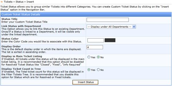 Kayako ss tickets006 Insert Status