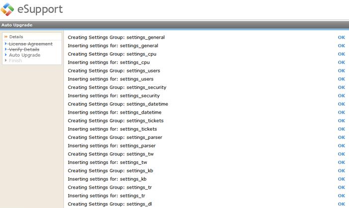 Kayako ss upg010 Running the Upgrade Script