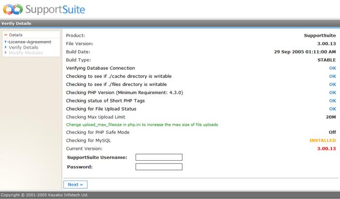 Kayako ss upg022 Running the Upgrade Script