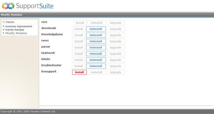 Kayako ss upg023 Running the Upgrade Script