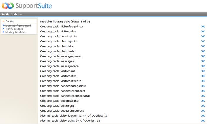 Kayako ss upg024 Running the Upgrade Script