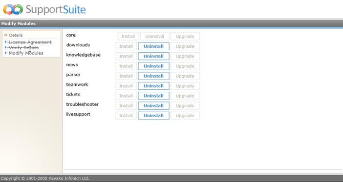 Kayako ss upg025 Running the Upgrade Script