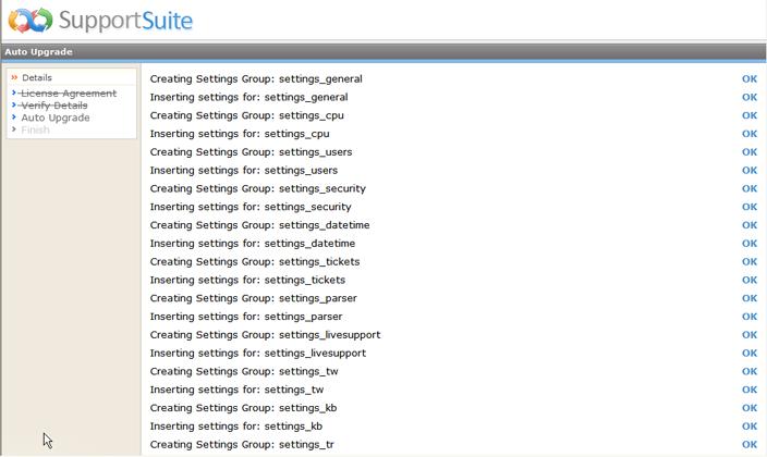 Kayako ss upg026 Running the Upgrade Script