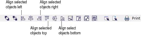 Label Creator lc workingwithobjects.3.8.1 Aligning and centering objects