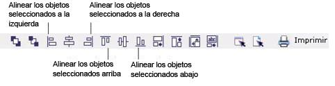 Label Creator lc workingwithobjects.3.8.1 Alinear y centrar objetos