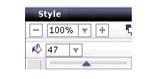 Label Creator lc layouttransparencyslider Ajouter une couleur ou une image darrière plan