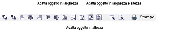 Label Creator lc workingwithobjects.3.7.2 Modifica della forma e delle dimensioni degli oggetti
