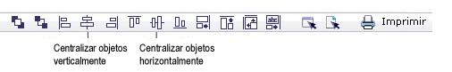 Label Creator lc workingwithobjects.3.8.2 Alinhando e centralizando objetos