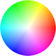 LightZone color wheel Hue/Saturation