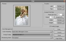 LightZone print dialog en How to print