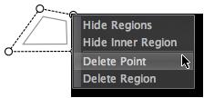 LightZone region delete point en Deleting control points