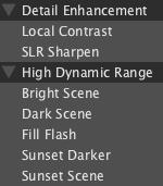 LightZone styles discover en Discover LightZone
