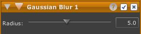 LightZone tool blur en Blur