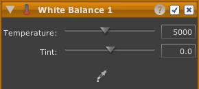 LightZone tool white balance en White Balance
