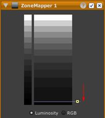 LightZone tool zonemapper black point after en Adjusting the black point