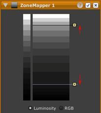 LightZone tool zonemapper contrast after en Adjusting contrast