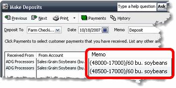 ManagePLUS for QuickBooks mpspecmathex4 10. Entering quantity information in your QuickBooks transactions