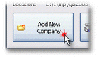 ManagePLUS for QuickBooks qsaddnewcompanybtn2 1. Adding/opening a new company file