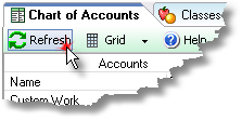 ManagePLUS for QuickBooks qslistsrefreshbtn1 3. Working with lists