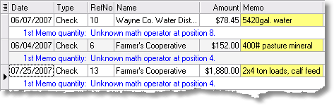 ManagePLUS for QuickBooks qstranserrdisplay 11. Finding and fixing transaction quantity errors