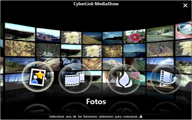 MediaShow launcher Módulos de MediaShow