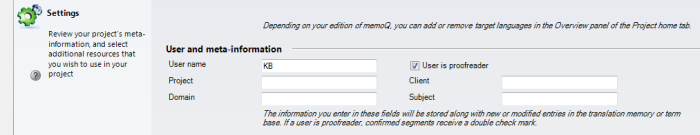 MemoQ conc user is proofreader Setting yourself as proofreader