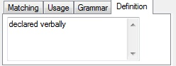 MemoQ definition tab1 Edit term base entry
