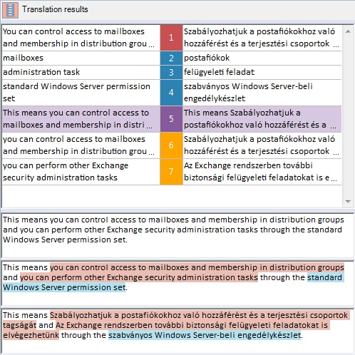 MemoQ fragass example 4 Fragment assembly