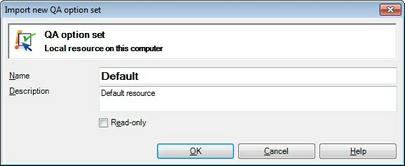 MemoQ import new light rsrc qasetting.zoom70 Import new light resource