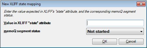 MemoQ new xliff state mapping dialog XLIFF files (XML Localization Interchange File Format)